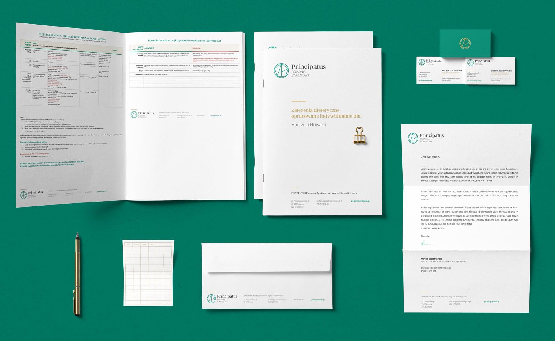Projektowanie identyfikacji wizualnej Fioletowe.com