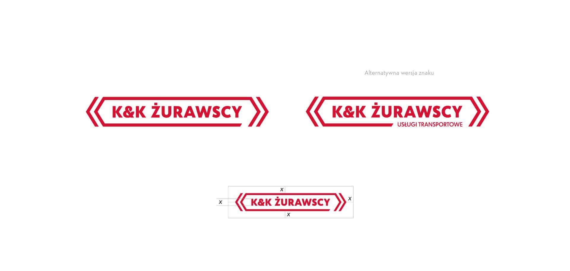 logo projekt żurawski identyfikacja