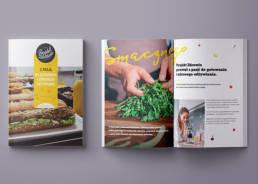 Materiały marketingowe i informacyjne foldery, broszury, katalogi, zaproszenia, gadżety, koszulki, kubki, plakaty, teczki na dokumenty, newslettery, okładki, plakaty, karty pocztowe