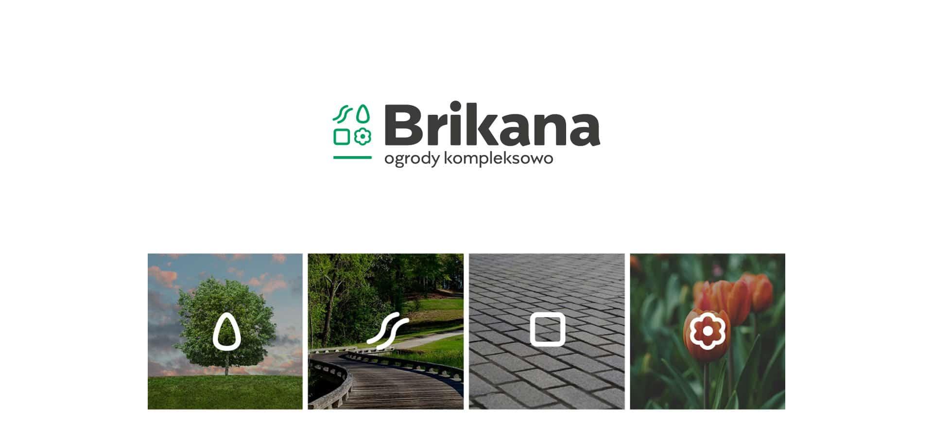 brikana projekt logo identyfikacja wizualna