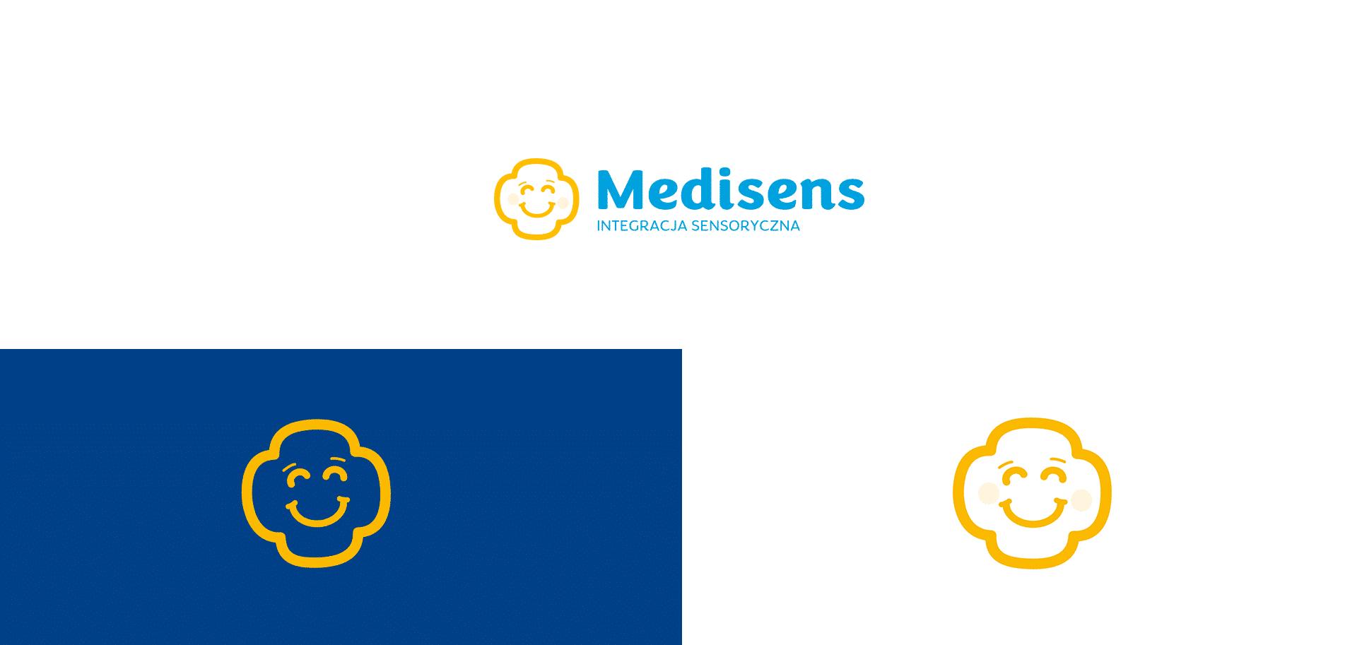 logo medisens identyfikacja wizualna