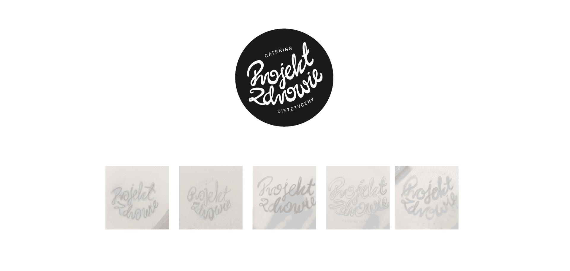 logo projekt zdrowie identyfikacja wizualna