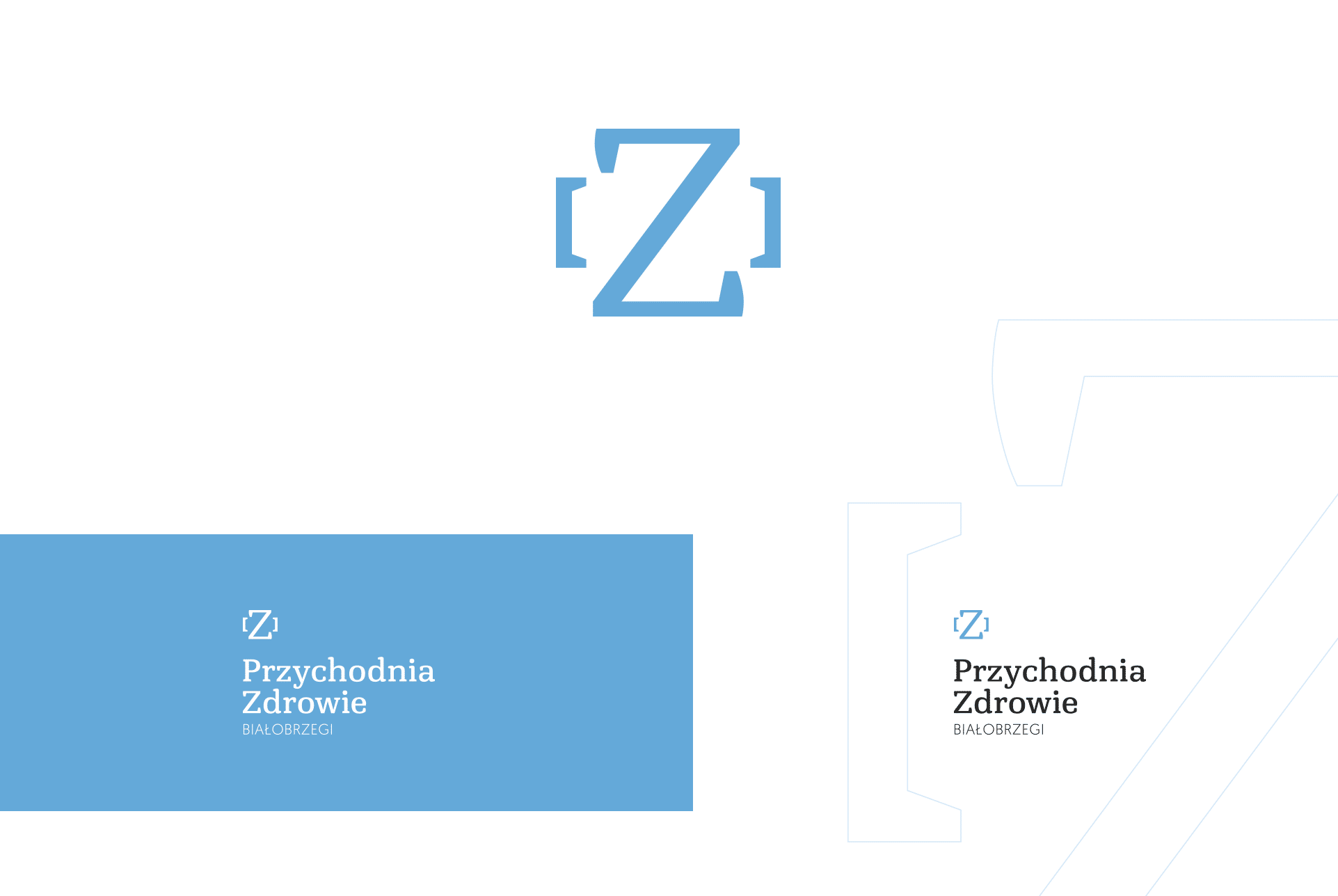 przychodnia zdrowie logo projekt
